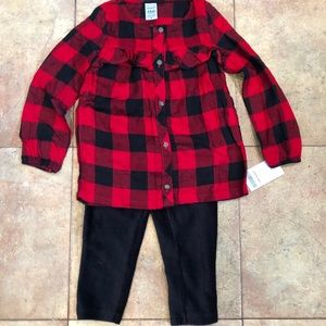 Brand New Carter's Outfit
